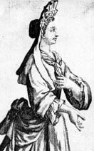 Religiosa de la orden no reformada de las dominicas instalada en el convento dedicado a san Bartolomé
